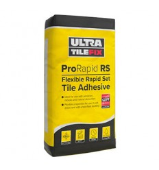 Ultra TileFix RS Trade Flexible Rapid Set Adhesive Grey