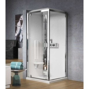 NOVELLINI GLAX GF80 HAMMAM (steam shower) 800 x 800mm