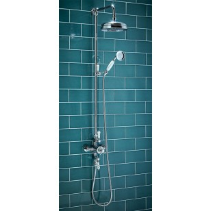 SCUDO Traditional Rigid Riser Shower